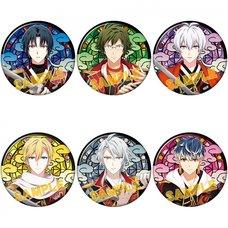 IDOLiSH 7 Ayakashi Mangekyo Karatogaokuri Katanashu Badge Collection
