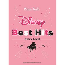 Disney Best Hits 10 Piano Solo: Entry Level (English Ver.)