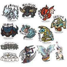 Capcom x B-Side Label Monster Hunter Sticker Collection Vol. 3