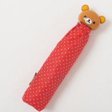 Rilakkuma Red Collapsible Umbrella