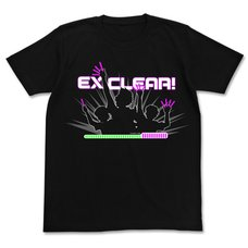 The Idolm@ster EX Clear! Black T-Shirt