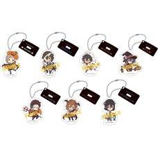 Bungo Stray Dogs Halloween Acrylic Keychain w/ Stand Collection Box Set