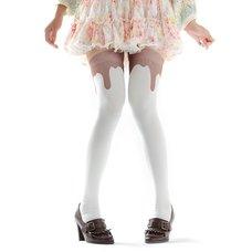Zettairyoiki Mint Chocolate Thigh-High Tights