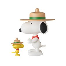 Vinyl Collectible Dolls No. 258: Peanuts - Beagle Scout Snoopy & Woodstock