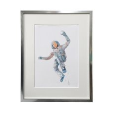 Space Brothers Exhibit Reproduction Art Print #3