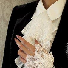 NO.S PROJECT Lace Cravat Necklace