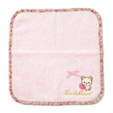 Rilakkuma Korilakkuma Strawberry Flower Mini Towel