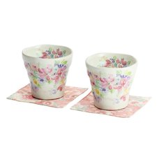 Hana Miyabi Mino Ware Rocks Cup Set