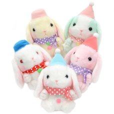 Pote Usa Loppy Snowman Rabbit Plush Collection (Ball Chain)