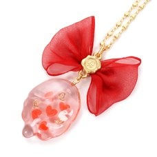 Q-pot. Love Heart Jelly Necklace