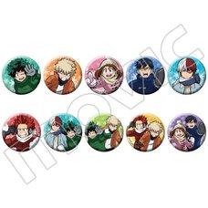My Hero Academia Anime Character Badge Collection