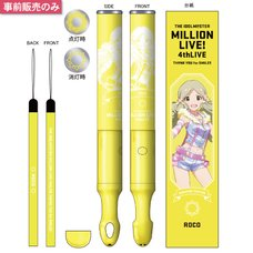 The Idolm@ster Million Live! 4th Live: Th@nk You for Smile!! Official Tube Light Stick - Roco Ver.