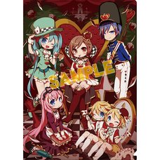 Vocaloid Alice in Wonderland Clear File: Mamimu Ver.