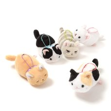 Tsuchineko Kidoairaku Cat Plush Collection (Ball Chain)