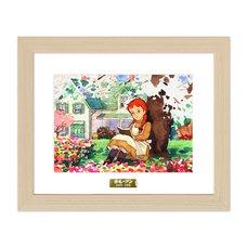 """""""Hanasaku Kisetsu"""" Chara Fine Graph Print"""