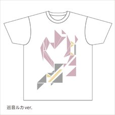 Hatsune Miku Summer Festival Geometric Megurine Luka T-Shirt