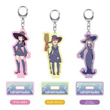 Little Witch Academia Acrylic Keychains w/ Stand