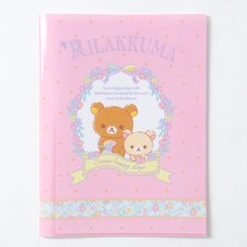 Sweet Happy Rilakkuma Clear File