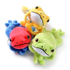 Lucky Frog Plush Collection