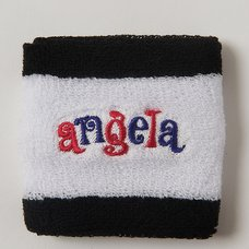 angela Pink & Blue Wristband