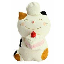 Mino Ware Pastry Chef Cat