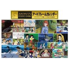 Studio Ghibli 2019 Art Frame Calendar