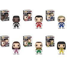 Pop! TV: Power Rangers Series 7 - Power Rangers Complete Set