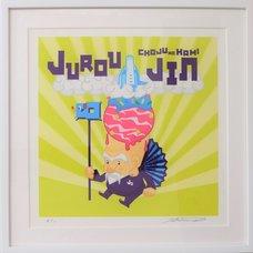Shibuya Pixel Art Artist Works: Takeshi Murai Original Art Print
