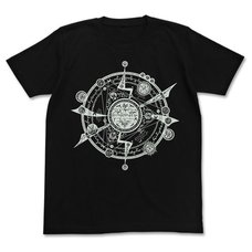 Tonitrus Magic Circle Luminous All-Over Print Black T-Shirt