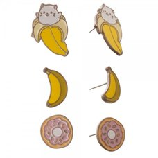 Bananya Earrings 3-Pack