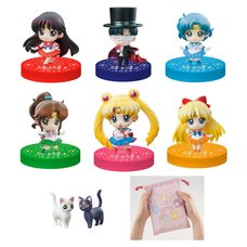 Petit Chara! Sailor Moon: Petit Punishment 2020 Ver. Limited Set w/ Drawstring Bag