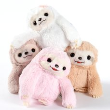 Namakemono no Mikke & Friends Sloth Plush Collection (Standard)