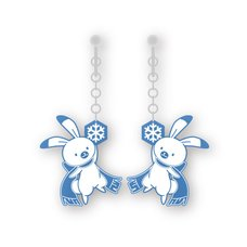 Snow Miku Yukine Earrings