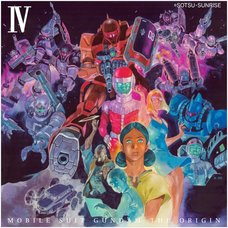 Mobile Suit Gundam: The Origin Vol. 4 Blu-ray Disc Collector's Edition