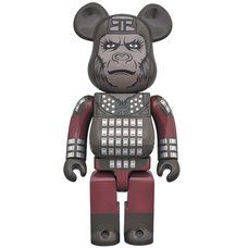 BE@RBRICK Planet of the Apes General Ursus 400%