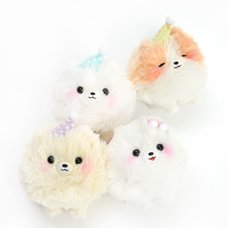 Pometan to Oyasumi Dog Plush Collection (Ball Chain)
