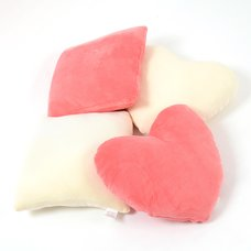 Fwaly Cushion Set - Square & Heart