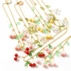 gargle Sweet Cherry Necklaces