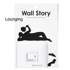 Ojisan Series Wall Story Wall Stickers