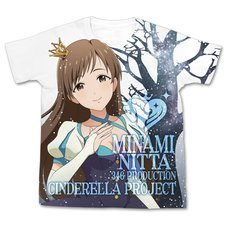 The Idolm@ster Cinderella Girls My First Star!! Minami Nitta Graphic T-Shirt