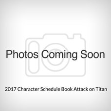 Attack on Titan 2017 Character Schedule Book