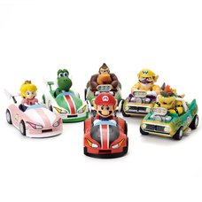 Mario Kart Deluxe Wild Wing & Flame Flyer Figure Collection
