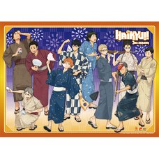 Haikyu!! Yukata Group Wall Scroll