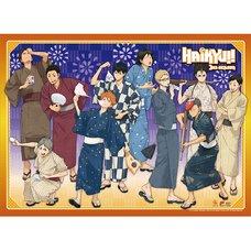 Haikyu!! Yukata Group Wall Scroll