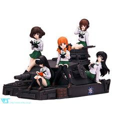 CharaGumin Anglerfish Team Set (Uniform ver.) | Girls und Panzer Garage Kit