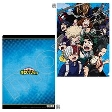 My Hero Academia Key Visual Clear File No. 2
