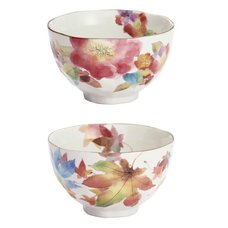 Hana Kozato Mino Ware Rice Bowl