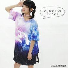 ACDC RAG 27 Cosmic Pattern T-Shirt Dress