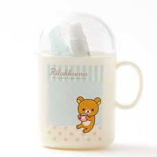 Dot Care Rilakkuma Toothbrush Set