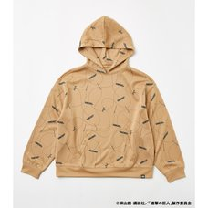 Attack on Titan R4G 3D Maneuver Gear Beige Hoodie